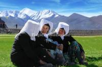Tajik Ethnic Old Women
