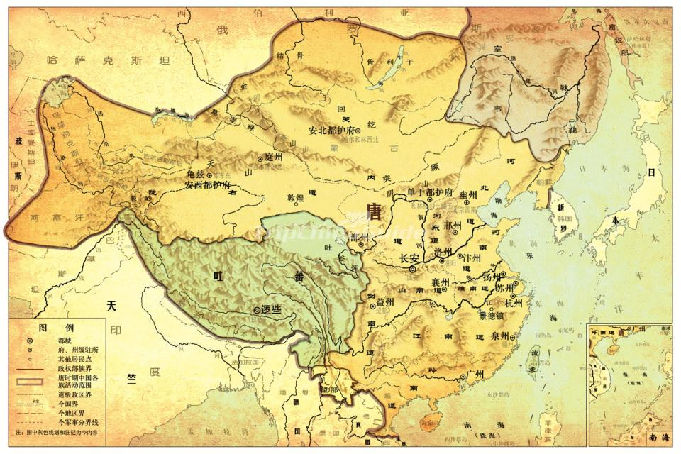 a history of tang dynasty in ancient china The tang dynasty was also likely china's largest and most powerful dynasty in  history and is considered the golden age of imperial china.