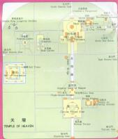 Temple of Heaven Beijing Map