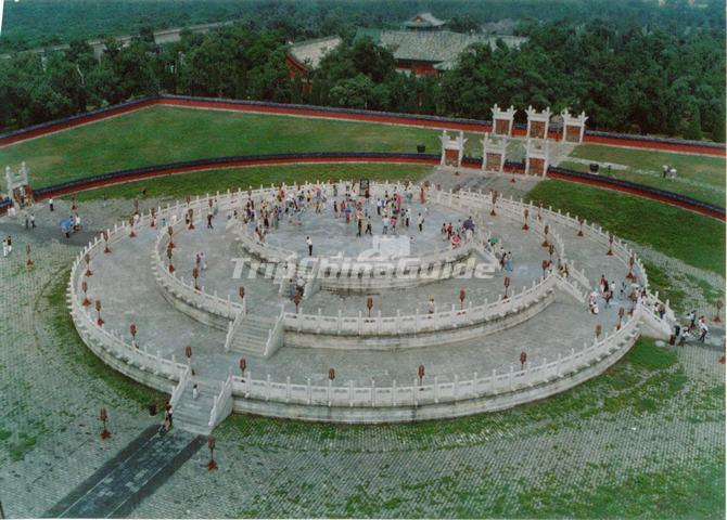 A Panoramic View of the Circular Mound Altar