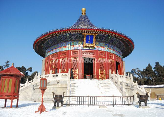 The Imperial Vault of Heaven in Temple of Heaven Park