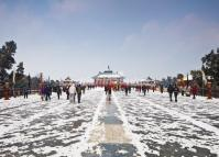 Temple of Heaven in Winter
