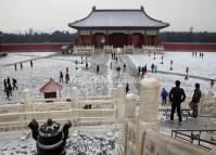 Temple of Heaven Snowscape