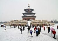 Temple of Heaven in January