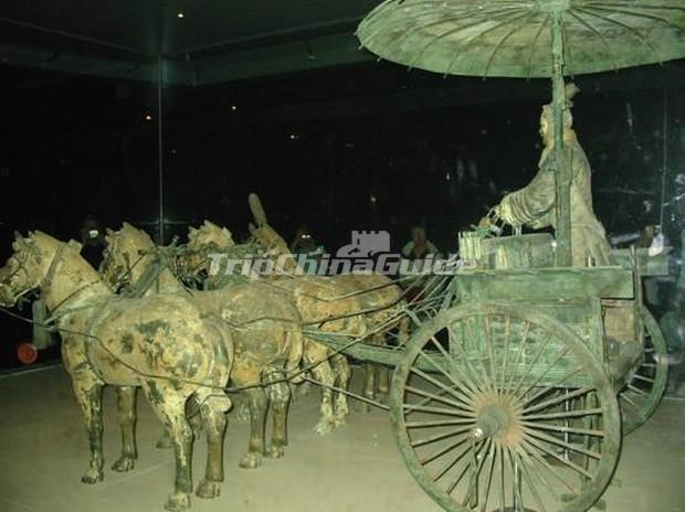 The Bronze Chariots and Horses of Emperor Qin Shi Huang