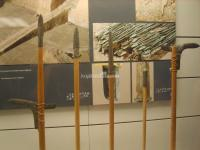 The Qin Weapons in Museum of Qin Terra-cotta Warriors and Horses, Xian