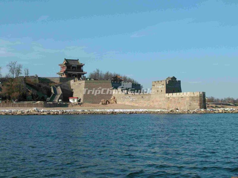 The Laolongtou Great Wall in Shanhaiguan, Qinhuangdao