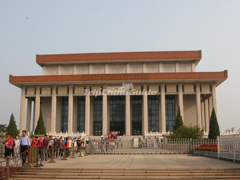 Memorial Hall of Chairman Mao at Beijing Tiananmen Square