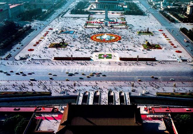 A Bird's Eye View of Tiananmen Square