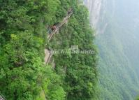 The Plank Road in Zhangjiajie Tianmen Mountain
