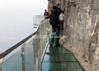 Tianmen Mountain Glasss Path