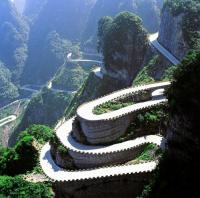 Tianmen Mountain Road, Zhangjiajie, China