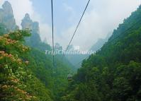 Tianzi Mountain Cabel Car