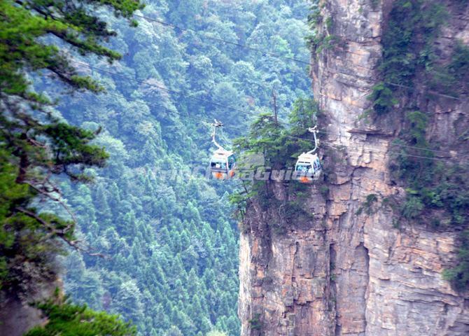 Tianzi Mountains Tour
