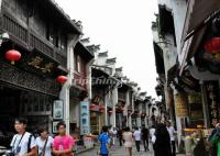 Booming Tunxi Old Street Huangshan City