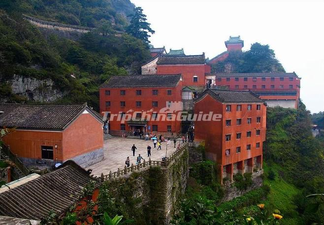Ancient Building Complex In The Wudang Mountains Unesco