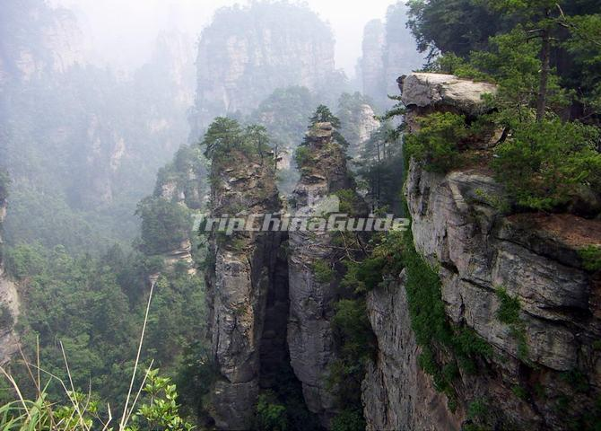 Wulingyuan Scenic Area Zhangjiajie Wulingyuan Scenic And Historic Interest Area Photos