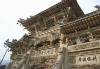 Architecture at Mount Wutai Shanxi