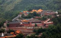 An Ancient Temple in Mt. Wutai China