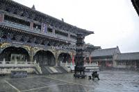 A Buddhist Temple in Wutai Mountain