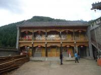 Fomu Cave Temple in Wutai Mountain
