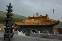 The Lucky Temple (Jixiang Temple) in Mount Wutai