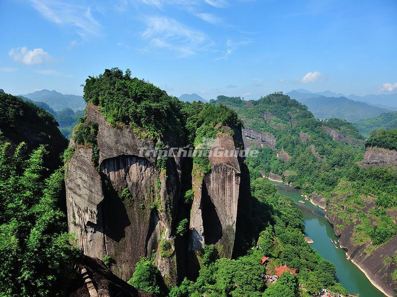The Heavenly Tour Peak in Mount Wuyi