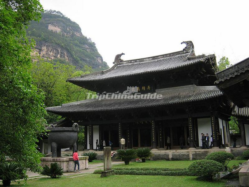 The Wuyi Palace in Mount Wuyi