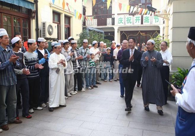 travelguide muslim china shanghai mosque