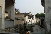 Xidi Village Quiet Alley Huangshan City