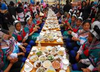 The Long Street Banquet in Yuanyang Old Town