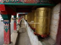 The Prayer Wheel in Yading Nature Reserve