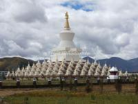 The Buddhist Pagodas in Daocheng Yading Nature Reserve