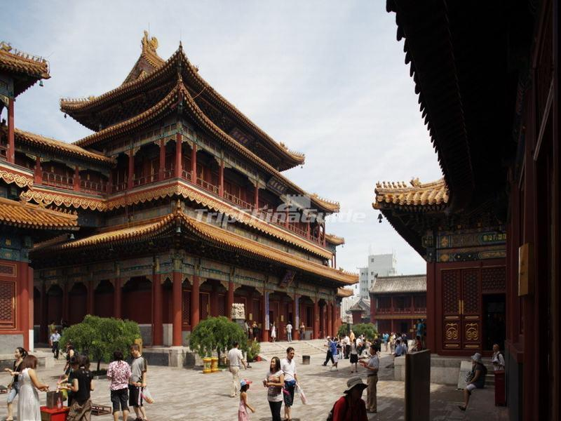 Jietai Building in Yonghe Temple, Beijing