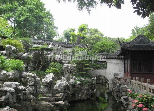 Yu Garden Beautiful Scenery Shanghai - Shanghai Yu Garden Photos