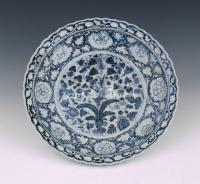 Blue and White Porcelain Yuan Dynasty
