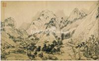 Dwelling in the Fuchun Mountains-A Famous Painting at Yuan Dynasty