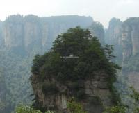 The Avatar Mountains of Zhangjiajie National Park in China