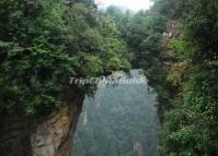 The Natural Bridge in Zhangjiajie National Forest Park