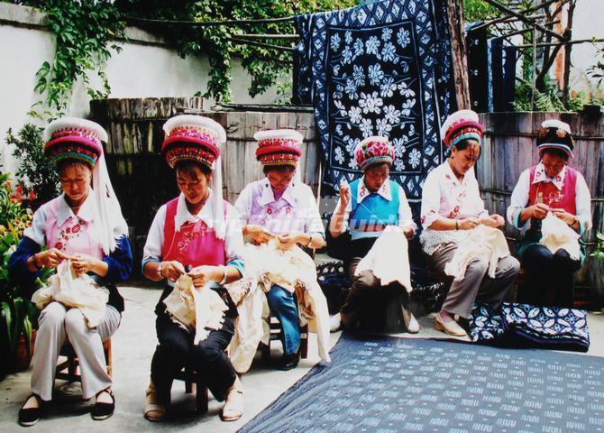 Zhoucheng Town Dali Zhoucheng Tie Dying Zhoucheng Town