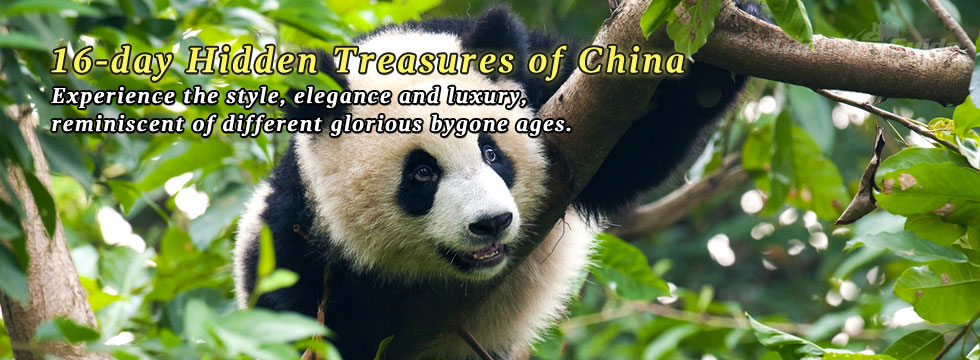 16-day Hidden Treasures of China
