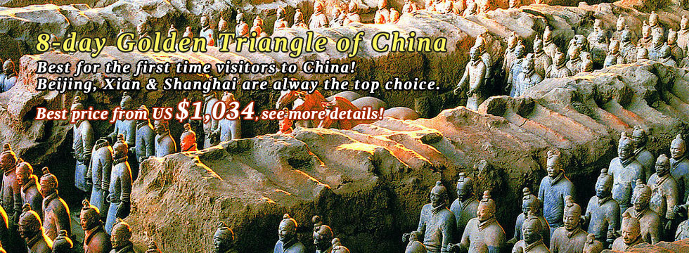 8-day Golden Triangle of China